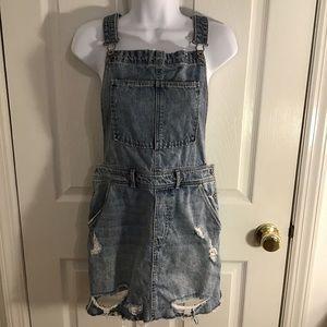 Other - Denim Overall Skirt